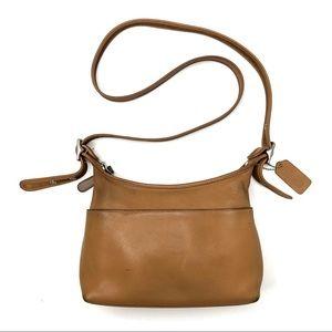 Vintage Coach Leather Legacy Zipper Crossbody Bag